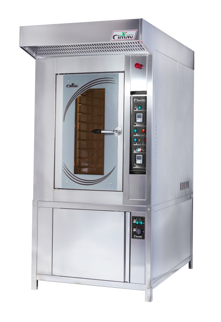 Thermoventilated ovens for pastry and bread